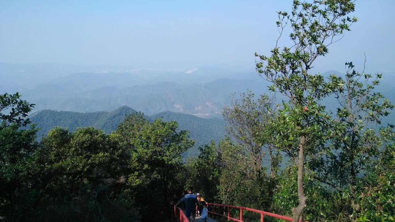 爬山风景图片唯美